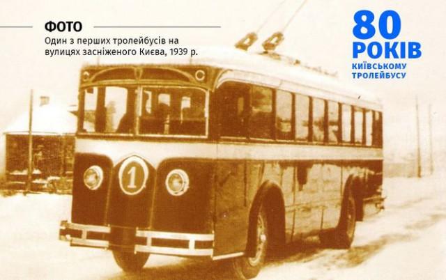 Троллейбусное движение в Киеве было открыто 5 ноября 1935 года
