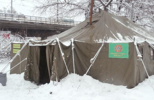 При плохой погоде фуры не будут пускать в Киев