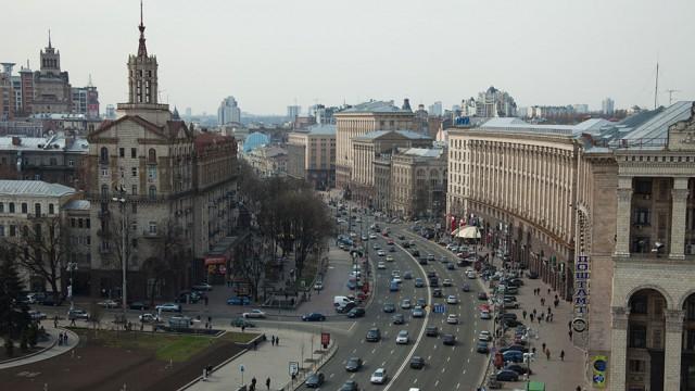 В КГГА утвердили график движение автомобилей по Крещатику