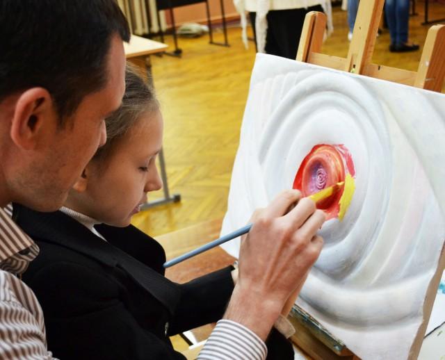 """Выставка проходит в рамках проекта """"Музей без барьеров: от теории к практике"""""""