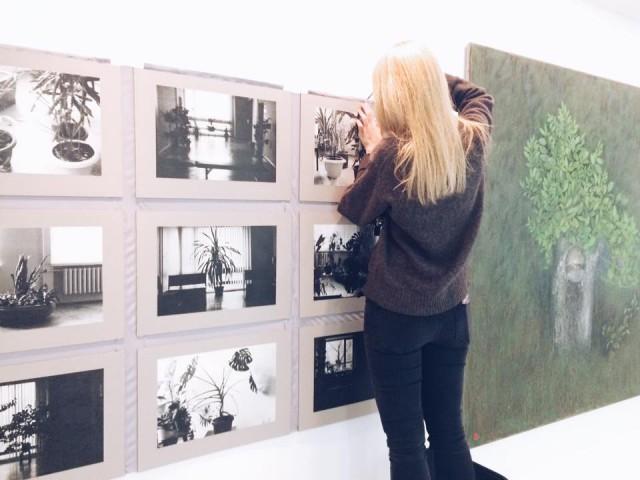 В экспозиции представлены работы молодых художников
