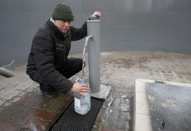 Из бювета течет лечебная вода - уверены чиновники КГГА