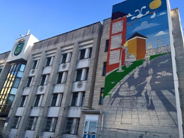 Мнения киевлян по поводу рисунка разделились