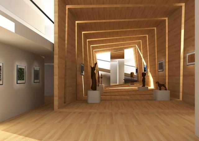 Пространство не является галереей в традиционном смысле, а будет местом для культурной коммуникации и обмена идеями