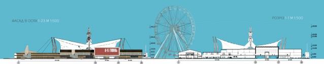 Переделка. На территории киевской гавани вместо серой промзоны могут появиться современный причал, парковая зона, колесо обозрения и боксы для творчества и учебы.