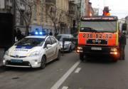 """Полиция """"зачистила"""" Киев от неправильно припаркованных машин"""
