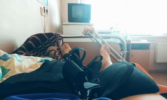 Фоззи перенес операцию на коленях