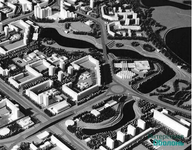 Проект каналов и озера на Оболони
