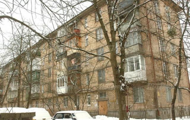 """Первая """"хрущевка"""" в Коломиевском переулке. Стоит до сих пор"""