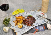 Бес в ребро: мясной ресторан Sam's Steak House представил самое большое меню ребер в Киеве