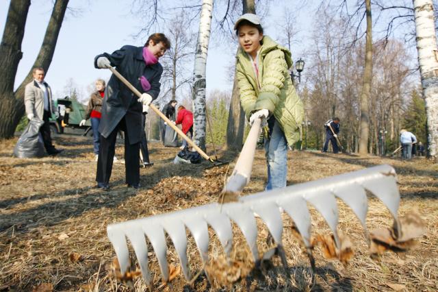 Киевлян приглашают присоединиться к уборке