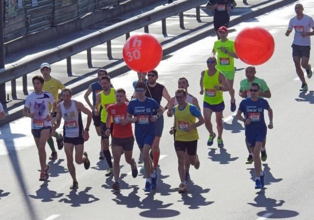 Победители установили рекорд ежегодного столичного забега