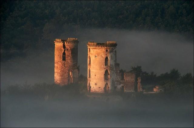 Червоноградский замок. Фото: Roman Brechko/vk.com/mandruiuchyukrainoiu