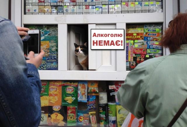 24 апреля, в центре Киева запретят продавать алкоголь - причем как магазинам, так и ресторанам