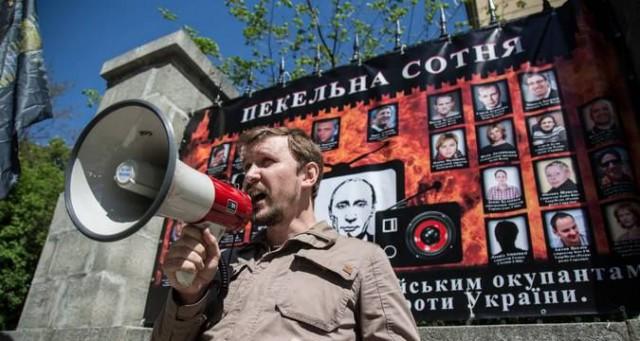 По соседству с мемориалом Героев Небесной сотни появилась стена позора владельцев пророссийских пропагандистских каналов