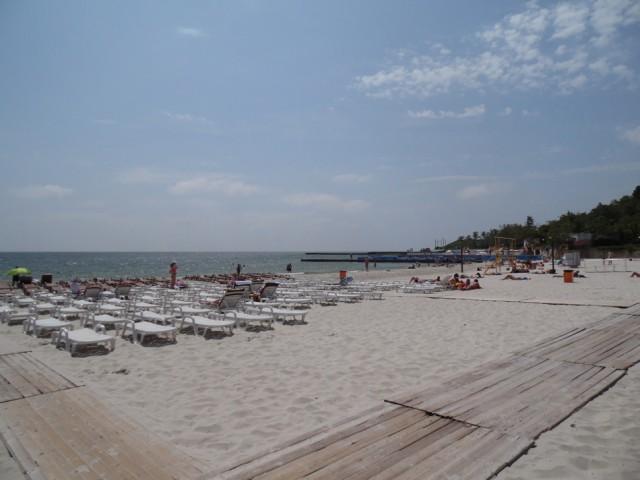Одесские пляжи. Фото Диана Лозовская