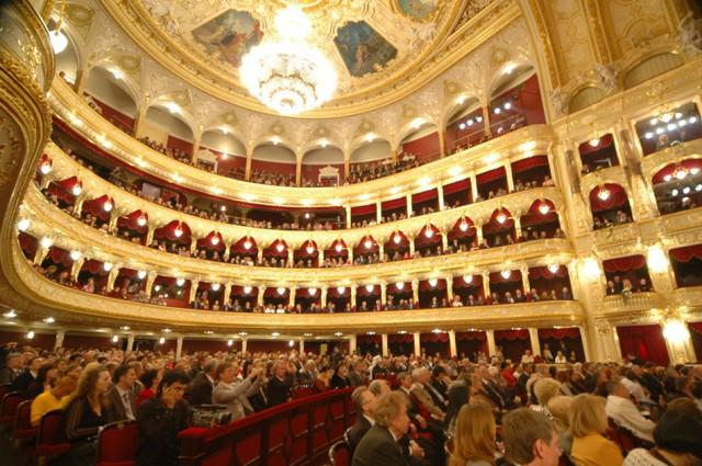 Одесский оперный театр изнутри Фото: http://odessa-life.od.ua