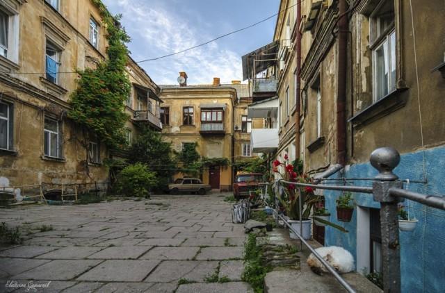 Уютные одесские дворики Фото: http://vk.com/public_od_ua