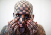 Тату на халяву, коктейль за сиськи и человек-шахматы: как прошел 12-й фестиваль Tattoo Collection. Фоторепортаж