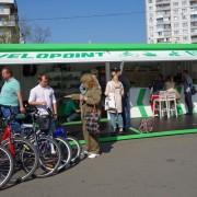 На Лівобережній відкриється перехоплювальний велопаркінг