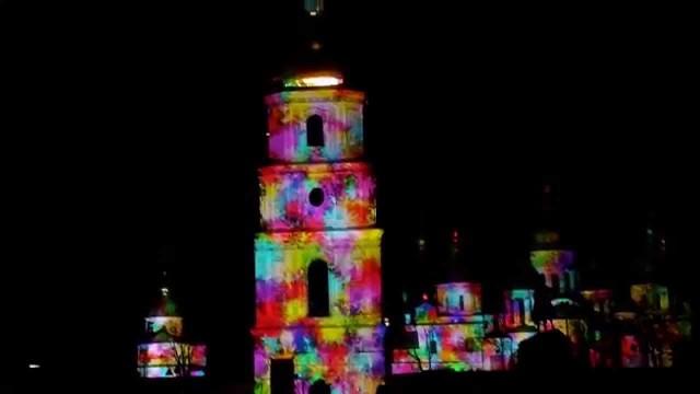 В День города киевляне и гости столицы могли наблюдать грандиозное трехмерное шоу «Инновации, рожденные в Украине!», приуроченное к годовщине 3G+ в Украине