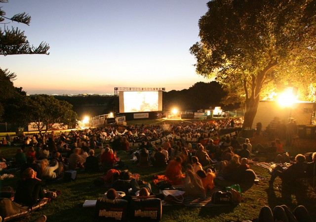 В парке «Наталка» открылся киносезон 2016