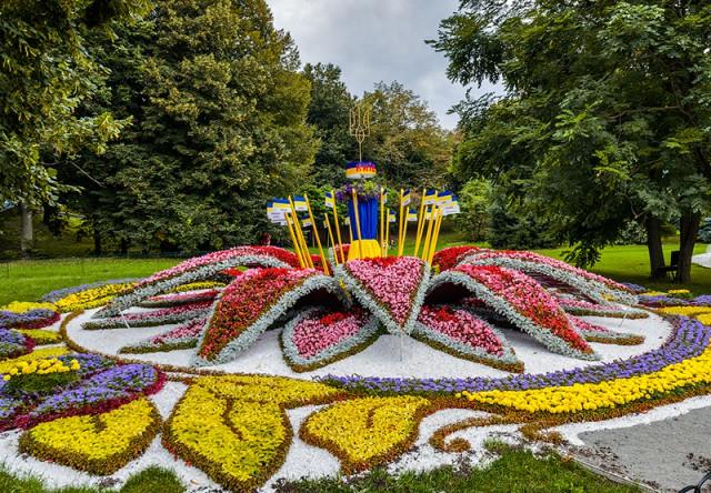 Каждый район города создал свой цветочный проект того, как видят Киев в будущем