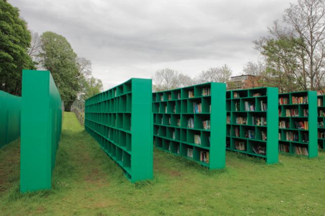 «Библиотека open air» будет работать на Позняках с 8 июня по 23 августа