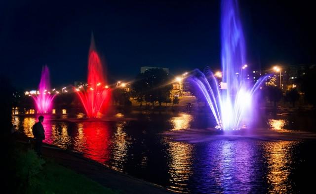Новые фонтаны на набережной будут со светом и музыкой