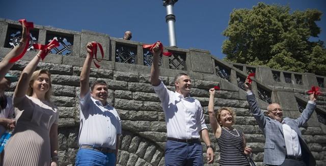 Мэр поблагодарил меценатов за вклад в сохранение исторического наследия Киева