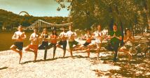 Йога на пляжах Киева: где, когда и почем