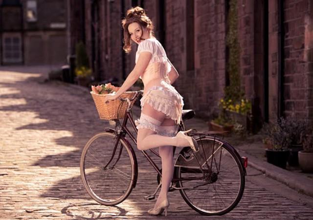 Призывают удобно и красиво прокатиться на велосипедах