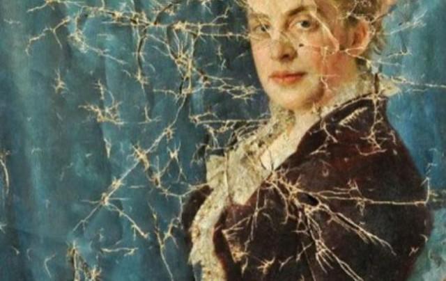 Портрет Елизаветы Сапожниковой восстанавливали несколько лет