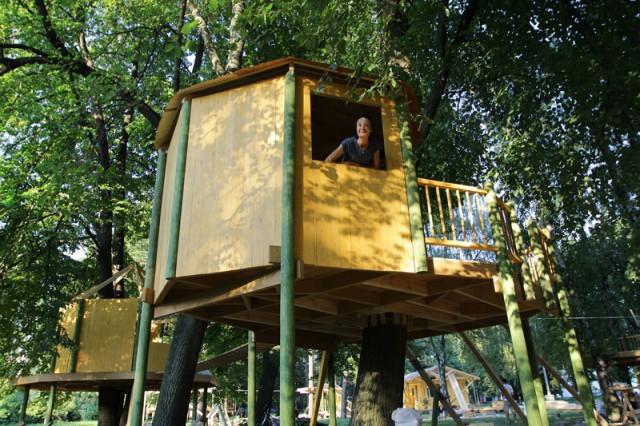 Забавные домики подойдут для детей с ограниченными возможностями