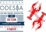 Ресторан ODESSA: раки каждый понедельник