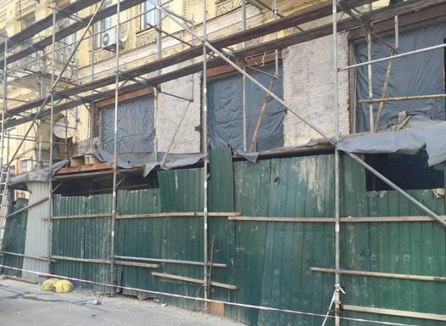 Здание теперь в аварийном состоянии