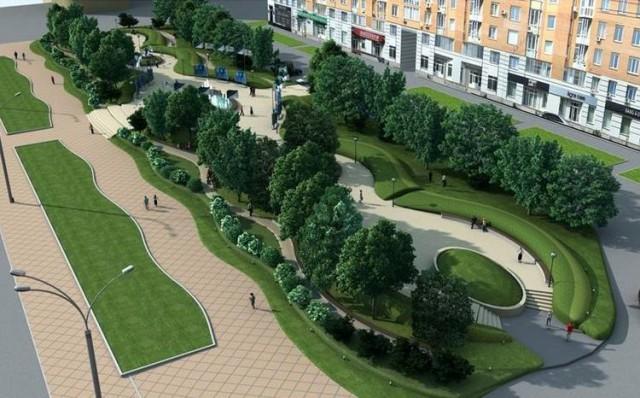"""""""Сквер будет состоять из аллеи, пешеходных дорожек, лавочек и зеленых насаждений"""", - сообщили в РГА"""