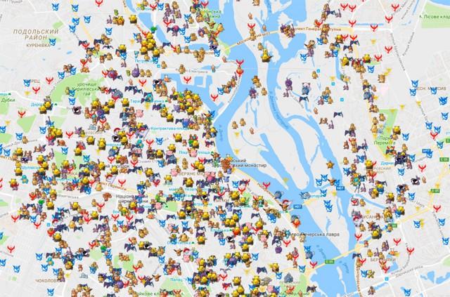 Карта интерактивная