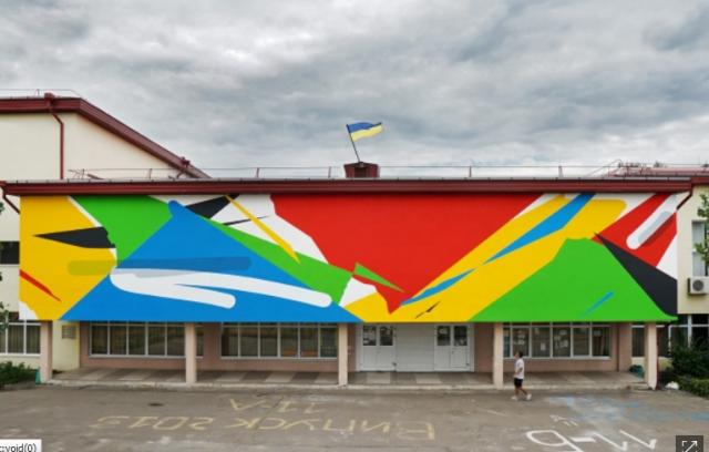 До сентября более 30 художников со всего мира создадут 30 муралов и несколько инсталляций в Киеве, Одессе, Чернигове