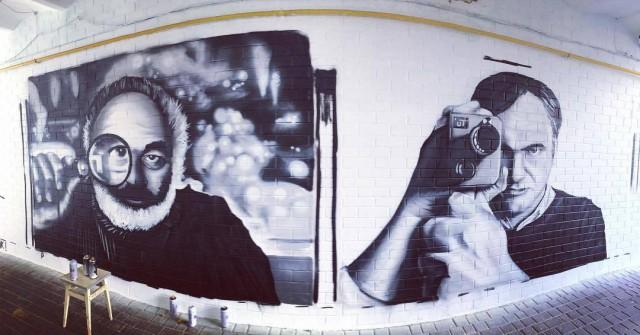 Художники раскрасили стены одного из переходов