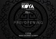 Приглашаем на долгожданный pre-opening KOYA ROOFTOP Restaurant & Bar