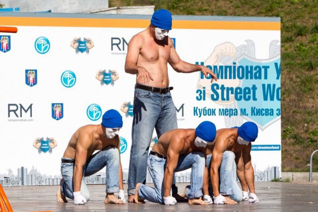 27 августа в Киеве прошел чемпионат Украины по Street Workout и кубок мэра Киева по Streetlifting