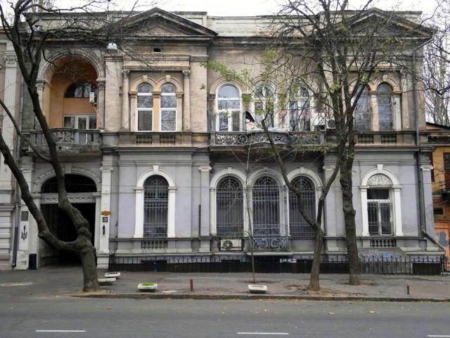 Маразлиевская, 20. Дом Панкеева Фото: panoramio.com