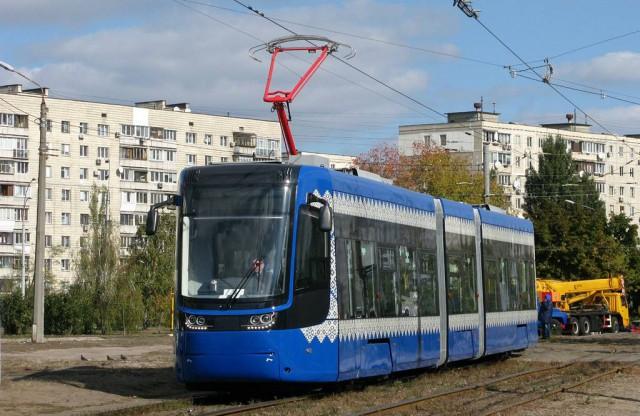 Первый такой трамвай начал курсировать в столице в середине августа