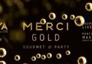 В эту субботу, 24.09 вечеринка MERCI GOLD в формате gourmet & party