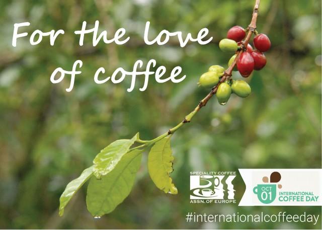 1-го октября по инициативе Specialty Coffee Organization of Europe and America состоится Международный День Кофе