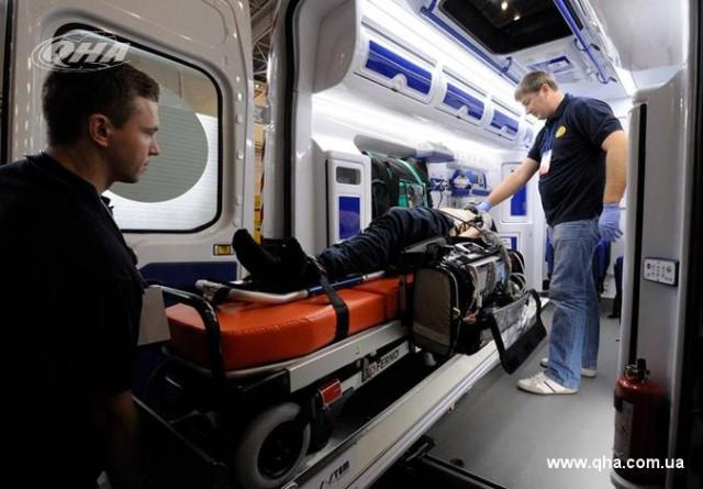 Новый автомобиль скорой медицинской помощи оборудован всеми передовыми медицинскими технологиями