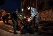 """Полицейский беспредел на улицах Киева. """"Беркут"""" снова в городе"""