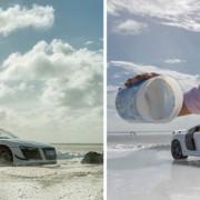В рекламе суперкара Audi использовала авто за 40 долларов