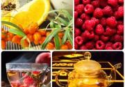 Витаминные и согревающие чаи в ресторане-караоке Amber!
